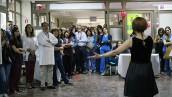 HUAP conmemoró el Día de la Mujer con música y feria para funcionarias